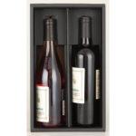 ワイン2本用紙箱
