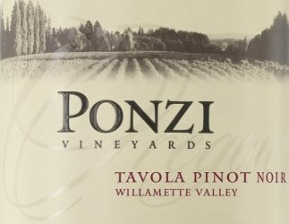 Ponzi Vineyards Tavola2